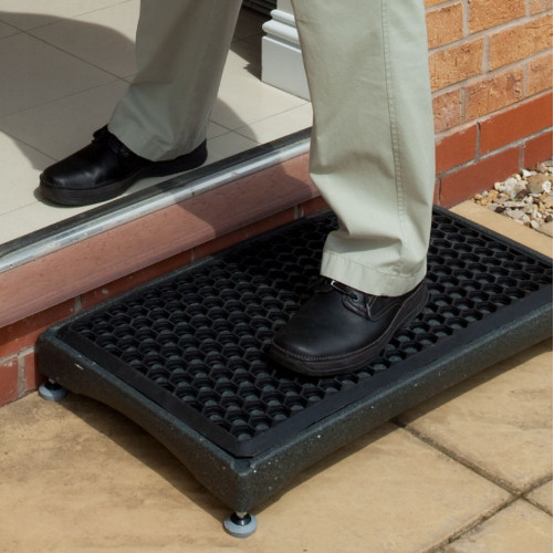 Derby Outdoor Half Step Mobility Walking Aid Doorstep Access